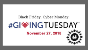 Giving Tuesday – The time is NOW